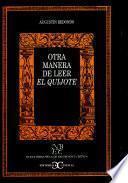 Libro de Otra Manera De Leer El Quijote