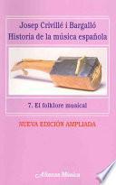 Libro de Historia De La Música Española