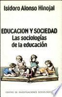 Libro de Sociologías De La Educación