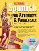 Libro de Spanish For Attorneys And Paralegals