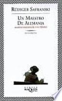 Libro de Un Maestro De Alemania