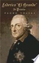 Libro de Federico  El Grande  De Prusia