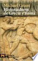 Libro de Historiadores De Grecia Y Roma