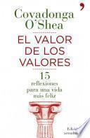 Libro de El Valor De Los Valores