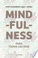 Libro de Mindfulness Para Todos Los Días