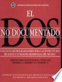 Libro de El Dos No Documentado