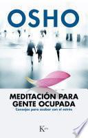 Libro de Meditación Para Gente Ocupada