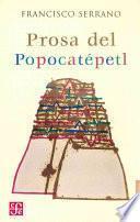 Libro de Prosa Del Popocatépetl