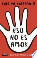 Libro de Eso No Es Amor
