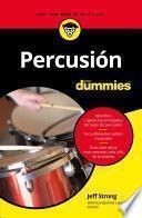 Libro de Percusión Para Dummies