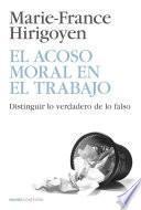 Libro de El Acoso Moral En El Trabajo