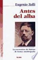 Libro de Antes Del Alba