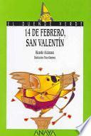 Libro de 14 De Febrero, San Valentín
