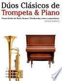 Libro de Dúos Clásicos De Trompeta And Piano