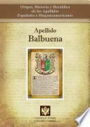 Libro de Apellido Balbuena