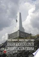 Libro de Rasgos Sociológicos De Investigación Urbana
