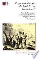 Libro de Para Una Historia De América, Iii. Los Nudos (2)