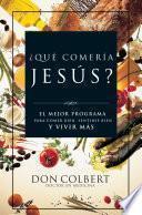 Libro de ¿qué Comería Jesús?