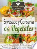 Libro de Envasado Y Conserva De Vegetales