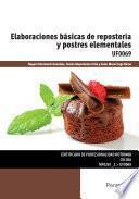 Libro de Uf0069   Elaboraciones Básicas De Repostería Y Postres Elementales