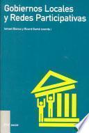 Libro de Gobiernos Locales Y Redes Participativas