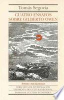 Libro de Cuatro Ensayos Sobre Gilberto Owen
