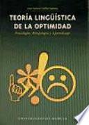 Libro de Teoría Lingüística De La Optimidad Fon