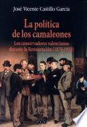 Libro de La Política De Los Camaleones
