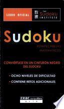 Libro de Sudoku.rompecabezas Matem