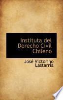 Libro de Instituta Del Derecho Civil Chileno