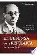 Libro de En Defensa De La República