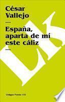 Libro de España, Aparta De Mí Este Cáliz