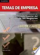 Libro de Temas De Empresa Answer Key