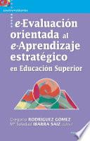 Libro de E Evaluación Orientada Al E Aprendizaje Estratégico En Educación Superior