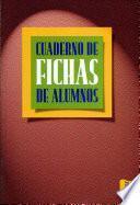 Libro de Cuaderno De Fichas De Alumnos
