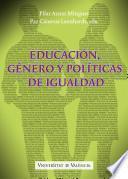 Libro de Educación, Género Y Políticas De Igualdad
