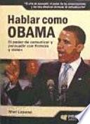 Libro de Hablar Como Obama