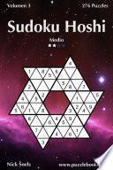 Libro de Sudoku Hoshi   Medio   Volumen 3   276 Puzzles