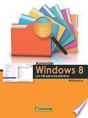 Libro de Aprender Windows 8 Con 100 Ejercicios Prácticos