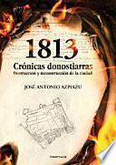 Libro de 1813: Crónicas Donostiarras