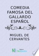 Libro de Comedia Famosa Del Gallardo Español