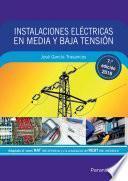 Libro de Instalaciones Eléctricas En Media Y Baja Tensión 7.ª Edición 2016