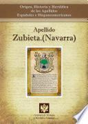 Libro de Apellido Zubieta.(navarra)