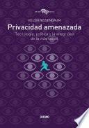Libro de Privacidad Amenazada