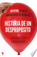 Libro de Historia De Un Despropósito
