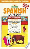 Libro de Spanish At A Glance