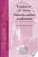 Libro de Traducir Al Otro