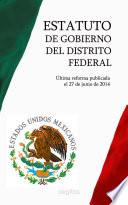 Libro de Estatuto De Gobierno Del Distrito Federal