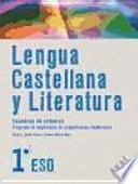 Libro de Lengua Castellana Y Literatura 1o Eso. Cuaderno De Refuerzo