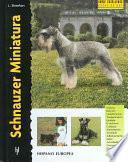 Libro de Schnauzer Miniatura/ Miniature Schnauzer